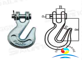 US Type H330 A330 Forged Carbon And Alloy Clevis Grab Hook