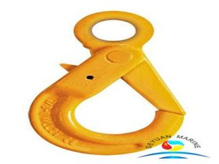 G80 European Type Eye Self-locking Hooks for Lifting And Lashing