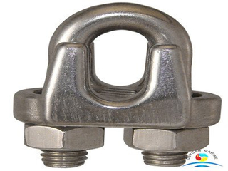 JIS Type Drop Forged Galvanized Wire Rope Clips