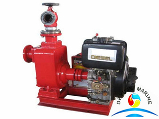KDS diesel engine fire fighting centrifugal water pump for boat