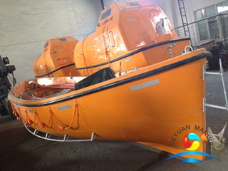 8 M FRP Open Type Lifeboat SOLAS approved with Durable Quality