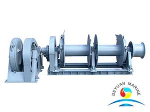 Marine Hydraulic Single Anchor Windlass With Double Shaft