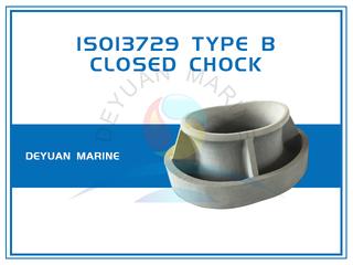 ISO13729 Closed Chock Bulwark Mounting Type B