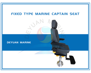 Marine Captain Driving Seat