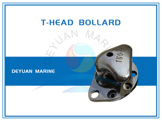 Cast Iron Or Steel T-Head Bollard for Sale