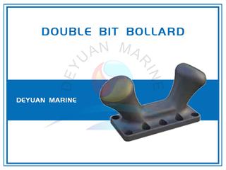 Dockside Bollard Double Bitt Bollard for Ports And Harbors