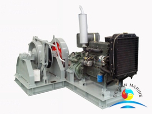 Marine Diesel engine driven Anchor Windlass With CCS Certificate