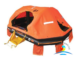Good Price For SOLAS Standard Marine Inflatable Yatch Life Raft