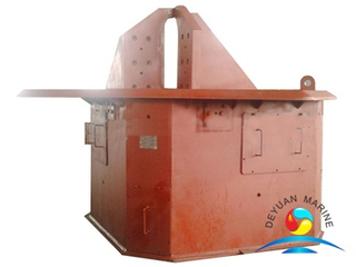 Fork type Hydraulic Shark Jaw for anchor handling tug vessels