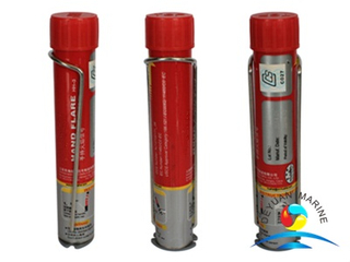 CCS Certificate Marine Red Hand Flare Use For Life Raft