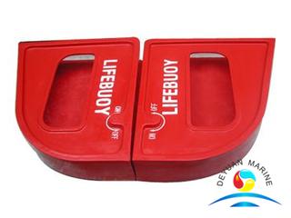 SOLAS 2.5kg Fiber Glass Life Buoy Ring Quick Released Box