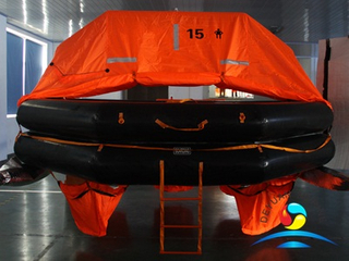 HSR-Y Type 15 Man Throw Overboard Inflatable Liferaft