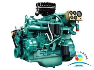YC4D Yuchai Brand Small Power Marine Diesel Engine For Ship