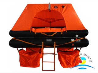 Good Price SOLAS 6 Man Marine Throw-overboard Inflatable Life Raft