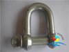 European Standard Galvanized or Black Painted Hammer Forging Large Shackles
