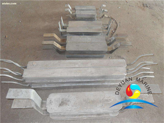 Zinc Anodes for Port and Offshore