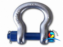 G2130 US Type Galvanized Safety Pin Anchor or Bow Shackles