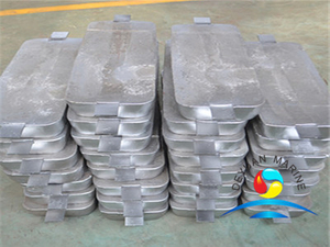 Welding Type Zinc Anode for Hull