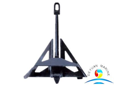 SOLAS Approved Marine Stainless Steel HHP Delta Flipper Anchor