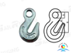 US Type H323 A323 Carbon Steel And Alloy Eye Grab Hooks