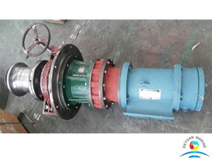 Marine Electric Driven Vertical Type Deck Anchor Capstan For Vessel