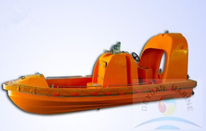 Good Performance SOLAS Approved Survival Craft Marine FRP Rescue Boat