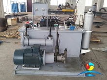 Marine Ship Hydraulic Power Pack Unit For 100T Shark Jaw