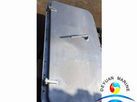 Marine Single Handle 8mm Weathertight Aluminium Door With CCS Approval