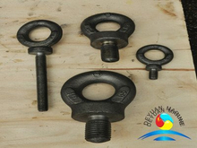 BS4278 Forged Collared Galvanised Eyebolts for Crane Lifting