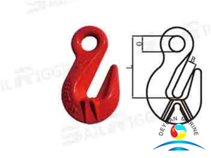 Italian Type Forged Alloy Steel Grab Lifting Hooks