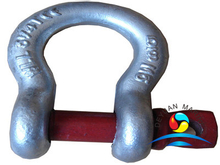US Type G209 Galvanized Drop Forged Screw Pin Anchor Shackles
