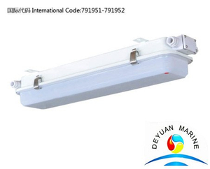 Marine LED type fluorescent pendant light JCY22-2L for ship