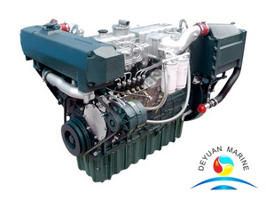 YC6A Series Yuchai China Marine Diesel Engine 162KW For Ship