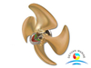 Ship Marine 4 Blades Controllable Pitch Propellers With Certificate