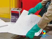 Warehouses White Absorbent Pads