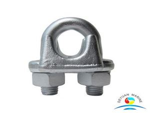 Austrialian Type Hot Dipped Malleable Wire Rope Clips