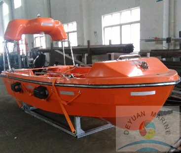 SOLAS Rescue Boat For Use In Marine Life Saving Application