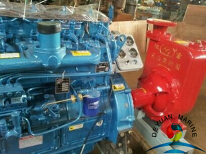 KDD Deutz marine diesel engine fire fighting multi-stage centrifugal pump