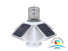 3NM-6NM Solar LED dock lights for floating docks