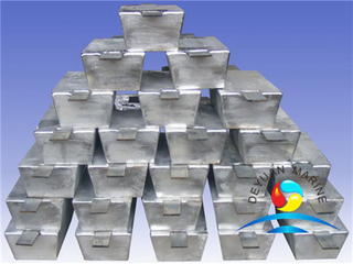 Zinc Anodes for Ballast Water Tank