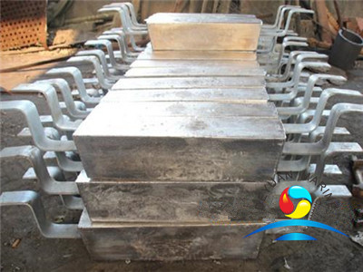 Zinc Anodes for Buried Pipeline