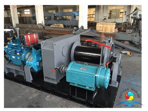 Ship Electric And Diesel Engine Double Power Driven Marine Winch