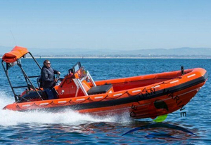4.5M SOLAS Approved High Speed FRP Life Saving Rescue Boat