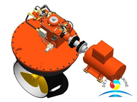 Ship Marine L-drive Electrical Azimuth Thruster Or Bow Thruster
