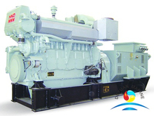 Marine Generating Set With HND-MWM Marine Diesel Engine For Boat