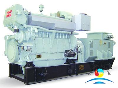 Marine Generating Set With HND-MWM Marine Diesel Engine For