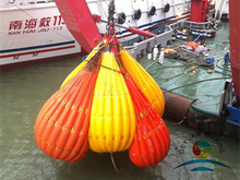 A Light Weight Crane And Davit Load Test Water Bag