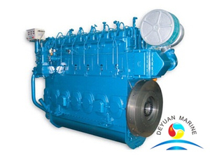 CW200 Series Fan Cooling Type Marine Diesel Engine 450KW