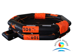 AOR Type 10 Person Open-Reversible Inflatable Life Raft