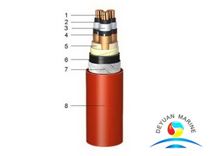 XLPE Insulated Medium Voltage Shipboard Power Cable